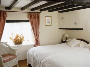 乡村风格卧室单人床