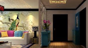 三居室新中式风格