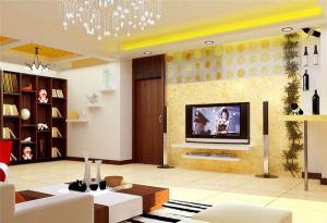 现代电视柜高度