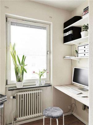 简洁阳台小书房装修风格