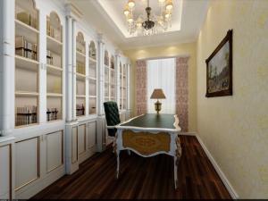 书房装饰设计欧式家具
