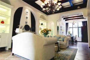 公寓简欧客厅家具图片