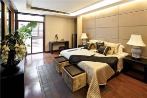 公寓简欧卧室装修效果图