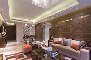 现代小客厅家具图片