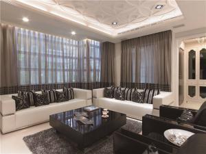 小户型客厅沙发摆放效果图欣赏