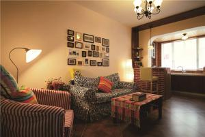 现代小客厅沙发