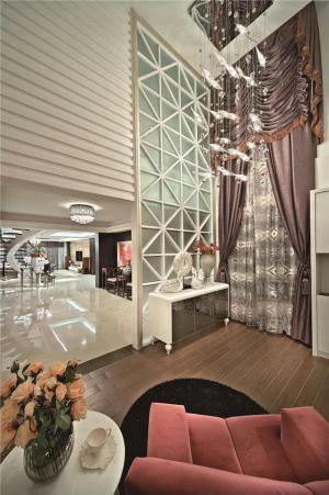 欧式奢华现代客厅家具图片