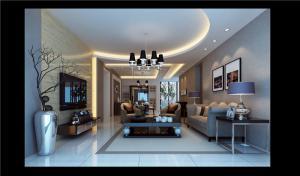 小户型美式客厅家具