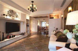 美式小客厅沙发