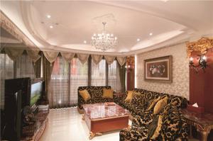 豪华新中式客厅家具图片