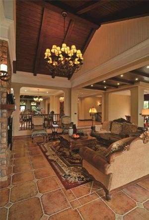公寓中式客厅家具图片欣赏