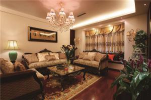 简易客厅沙发摆放效果图欣赏