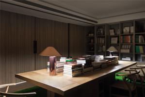 长方形简约书桌