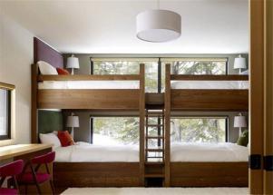 精致卧室上下床装修效果图
