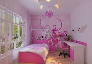 时尚女孩儿童房