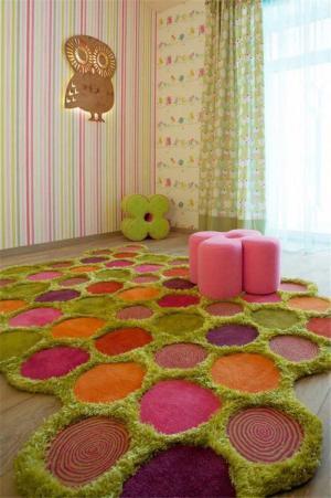手工地毯儿童房家具