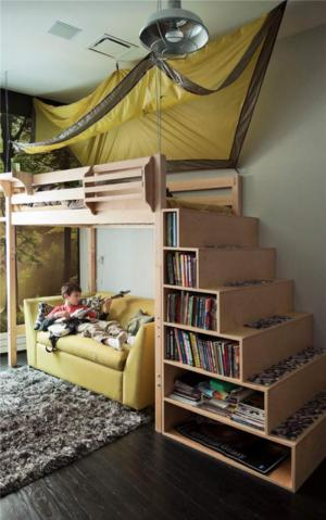 实木家具儿童房定制