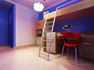 简单的儿童房吊顶效果图