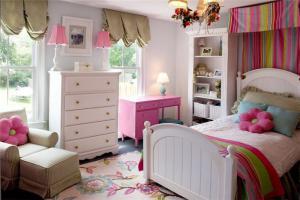 儿童房颜色装修设计