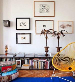 小户型客厅书柜矮书柜
