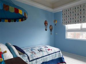 温馨儿童房装修效果图男孩