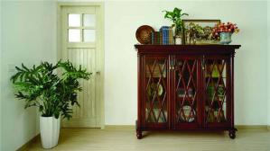 复古矮书柜
