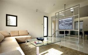 现代背景墙电视柜图片