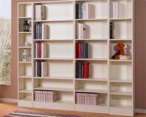 简易书柜家具实拍图