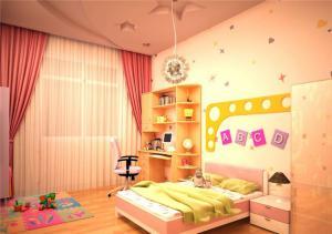 儿童房设计与装修图片