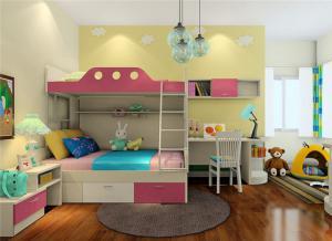 儿童家具上下床设计