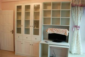 欧式简易书柜