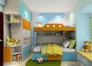 上下床带衣柜怎么设计