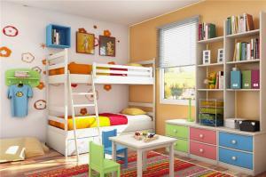 小型儿童家具上下床