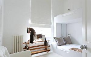 北欧风卧室上下床装修效果