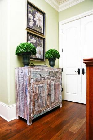 客厅鞋柜装饰