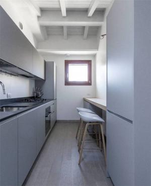 灰色橱柜颜色搭配