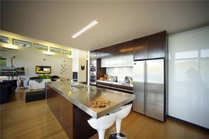 开放式厨房橱柜设计