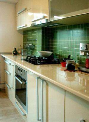 瓷砖厨柜实拍图