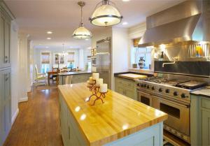 美式风格开放式厨房橱柜