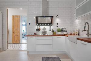 北欧瓷砖厨柜