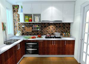中式整体厨房橱柜
