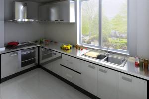多功能不锈钢厨房橱柜