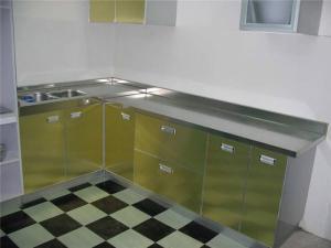 不锈钢厨房橱柜组合