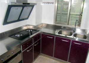 小户型不锈钢厨房橱柜