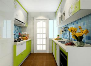 小清新整体厨房橱柜