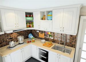 转角整体厨房橱柜