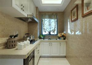 时尚瓷砖厨柜