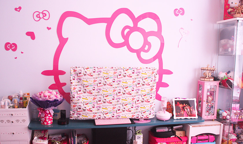 【主题房装修案例】家具这样装,轻松打造HelloKitty房!